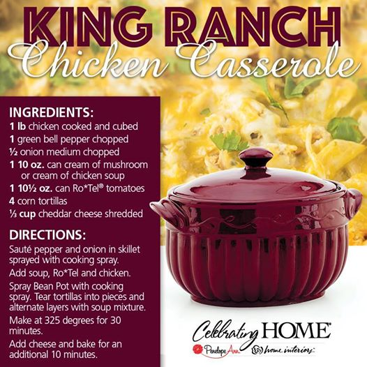 King Ranch Chicken Cass.