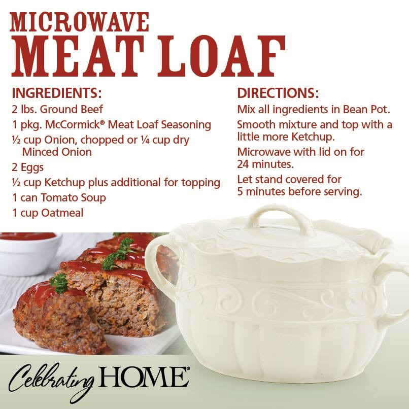 Bean Pot Microwave Meat Loaf